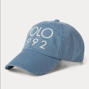 Polo 1992 Isle Blue Adjustable Hat NWT